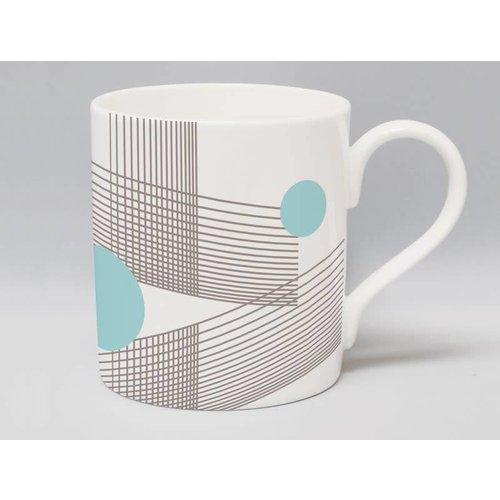 Repeat Repeat Metric Parallel Steel mug 57
