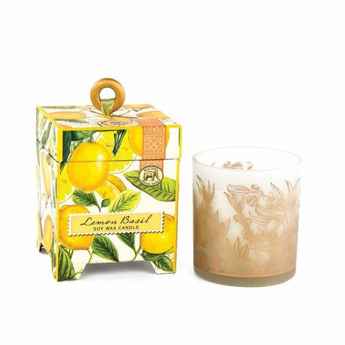 Michel Design Works Lemon Basil 6.5 oz. Soy Wax Candle