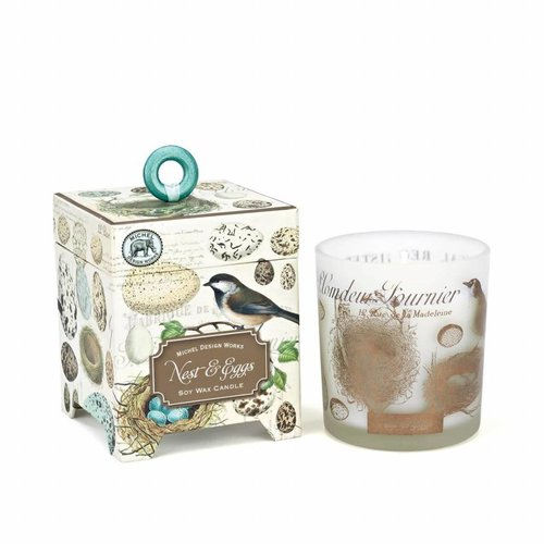 Michel Design Works Nest & Eggs 6.5 oz. Soy Wax Candle