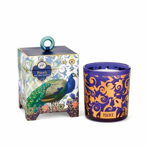 Michel Design Works Peacock 6.5 oz. Soy Wax Candle