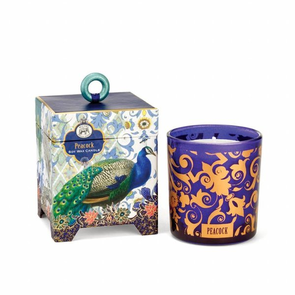 Peacock 6.5 oz. Soy Wax Candle
