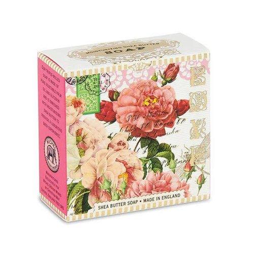 Michel Design Works Rosas poco jabón de karité