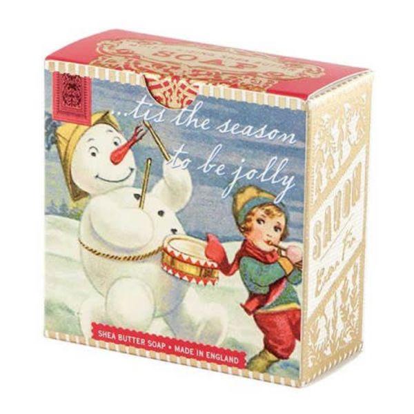 Muñeco de nieve poco jabón de karité