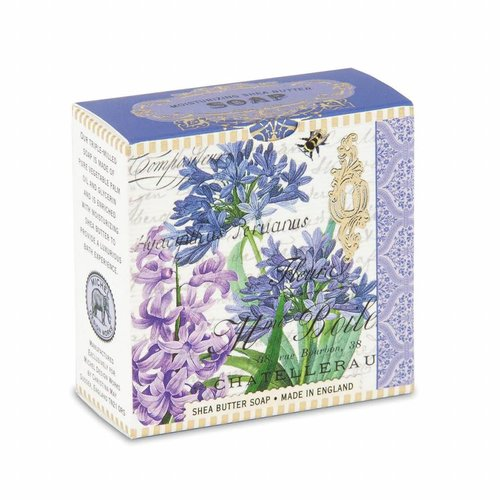 Michel Design Works Purple Bouquet Little Shea Soap