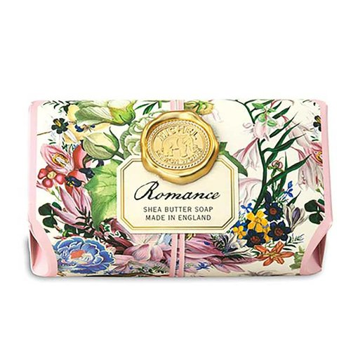 Michel Design Works Barra de jabón de karité Romance de baño grande