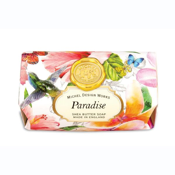 Paradise Large Bath Shea Soap Bar