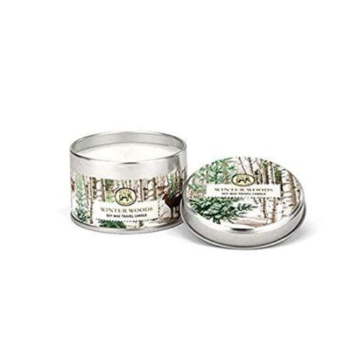 Michel Design Works Winter Woods Travel Candle