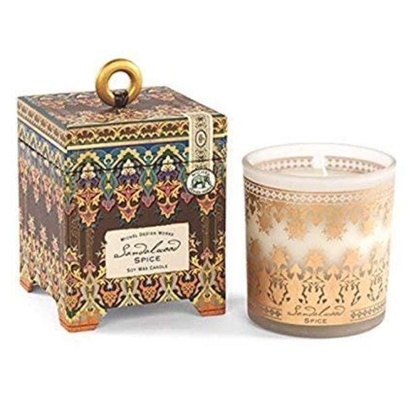 Sandalwood Spice 6.5oz Soy Wax Candle