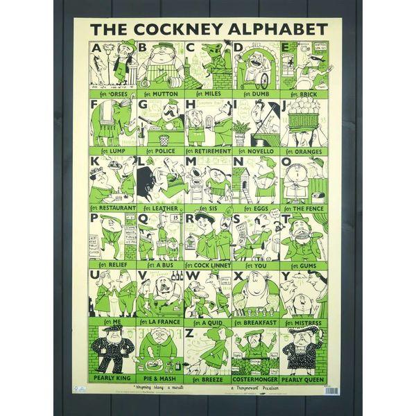Cockney Rhyming Slang Gift Wrap by Paul Bommer
