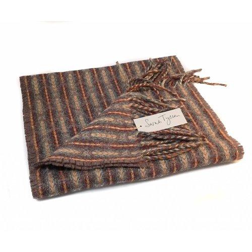 Sarah Tyssen Merino Lambswool long scarf 02