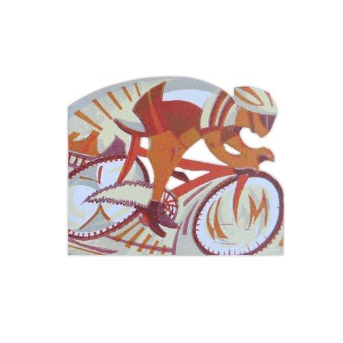 Art Angels In Pursuit cut card by Paul Cleden