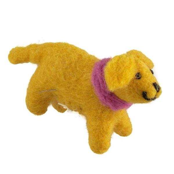 Golden Felt Labrador Pink scarf 08