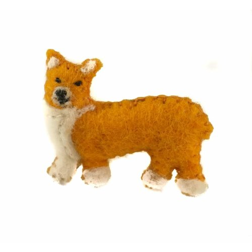 Amica Accessories CorgiFelt  brooch 013