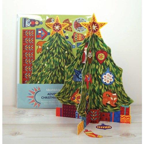 Art Angels Calendario de Adviento Árbol de Navidad