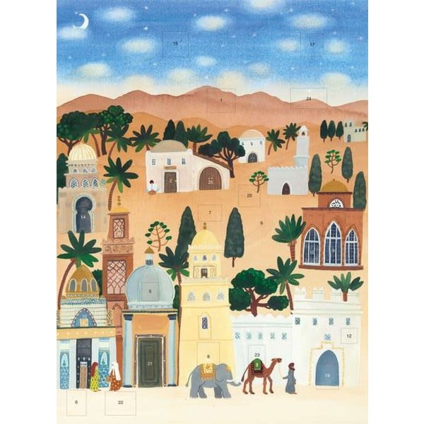 Desert Advent Calendar von Claire Winteringham