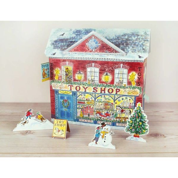 Toy Shop  Advent Calendar By Emily Sutton