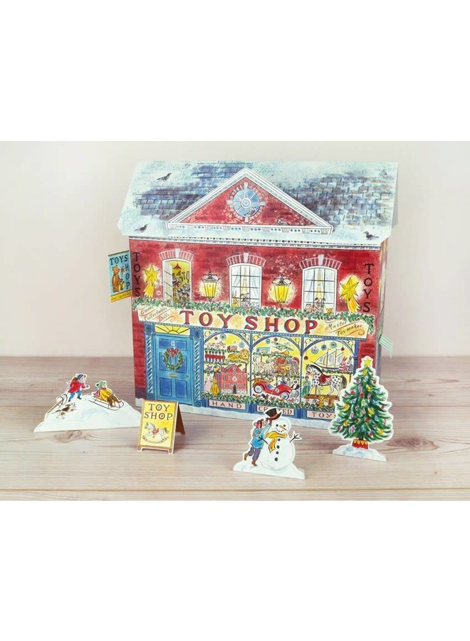 Toy Shop  Advent Calendar By Emily Sutton