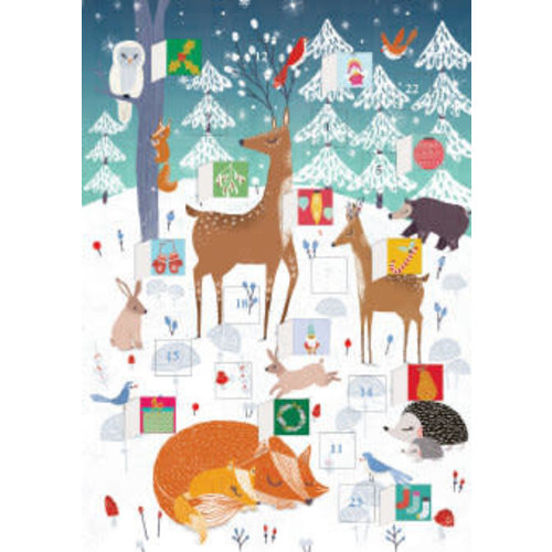 Roger La  Borde Frosty Forest  Advent Calendar