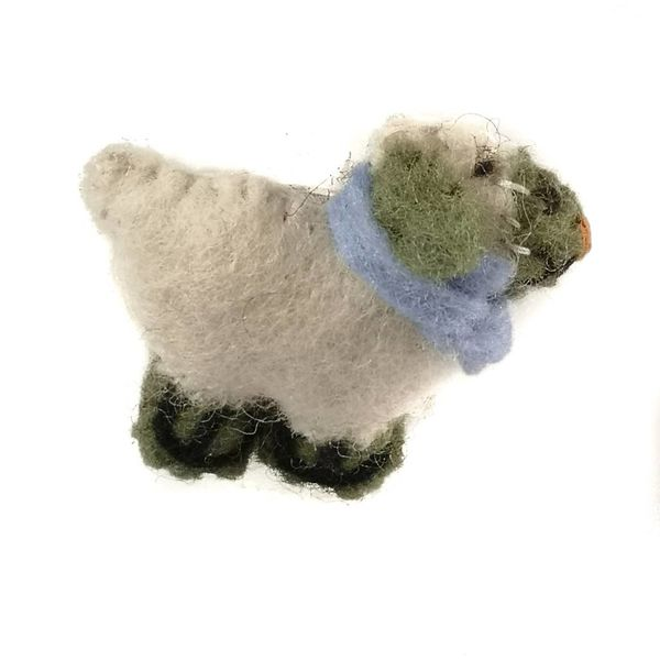 Sheep Felt Brooch 015