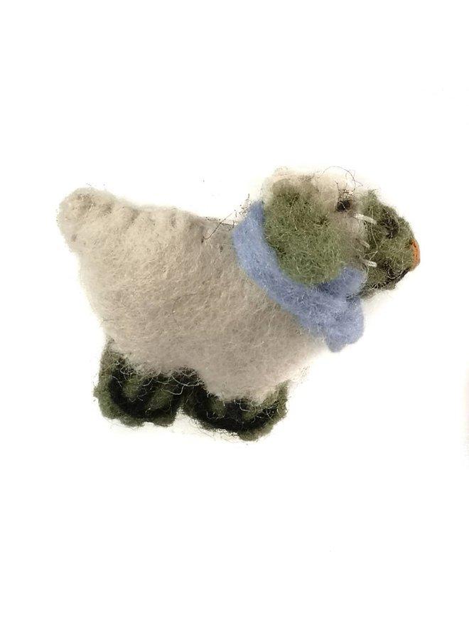 Schafsfilzbrosche 015