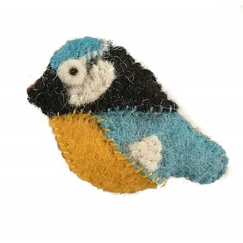 Amica Accessories Blue tit Felt  Brooch 115