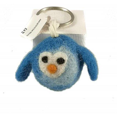 Amica Accessories Owl Felt Keyring 013