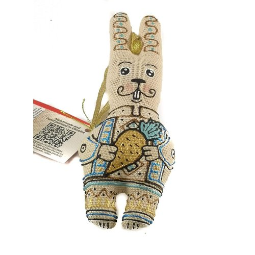 Kosa Deresa The Rabbit with parsnip decoration 013