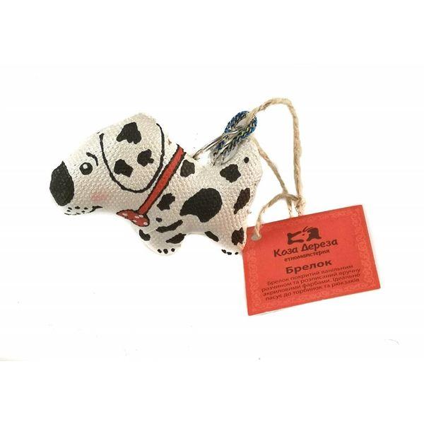 Dalmatiner-Schlüsselanhänger 012