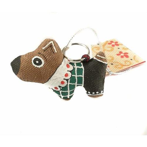 Kosa Deresa Hundehemd-Schlüsselanhänger 011