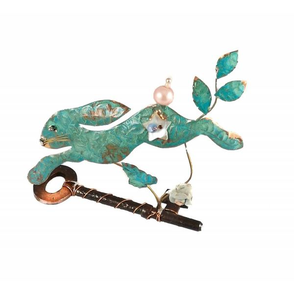Small Leaping Hare  on Key  Assemblage 022