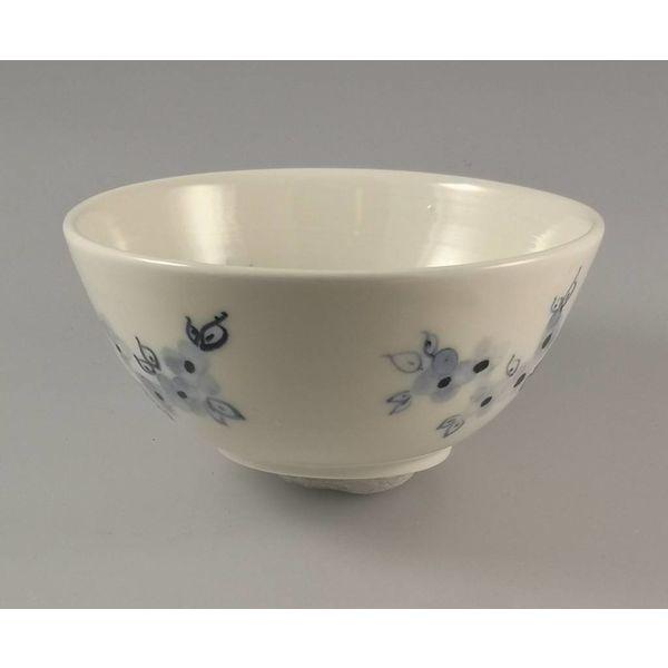 Raton en lavanda porcelana pintada a mano cuenco 017