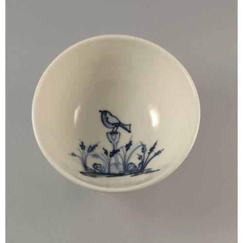 Mia Sarosi Tazón de porcelana Robin Tiny pintado a mano 003