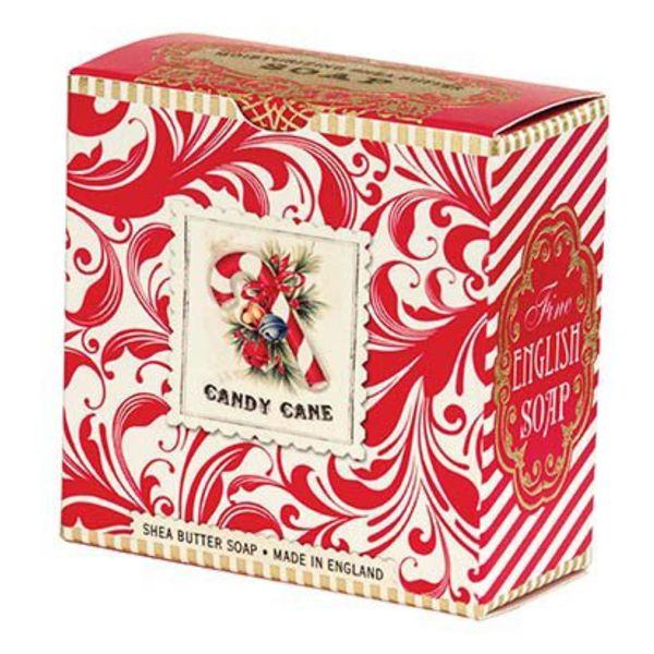 Candy Cane Shea Soap