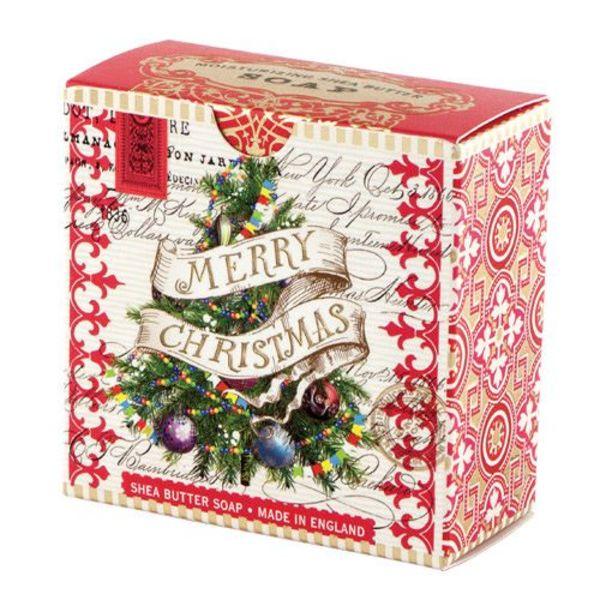 White Christmas Shea Soap