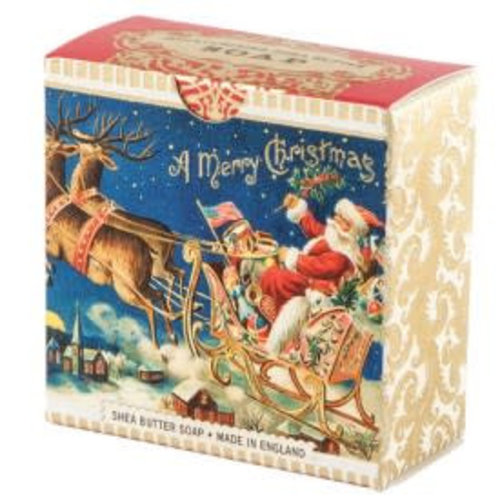Michel Design Works Santa Sleigh Shea Seife