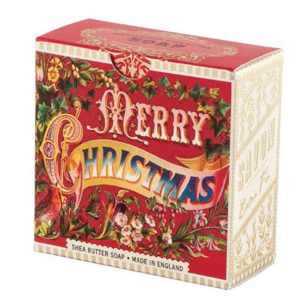 Frohe Weihnachten Shea Seife