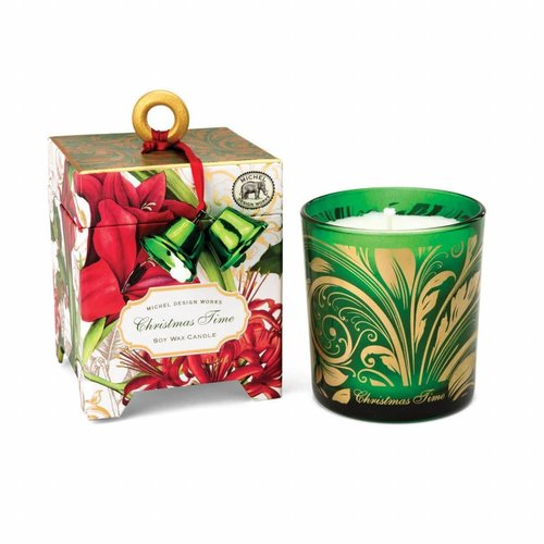 Michel Design Works Christmas Time  6.5 oz. Soy Wax Candle