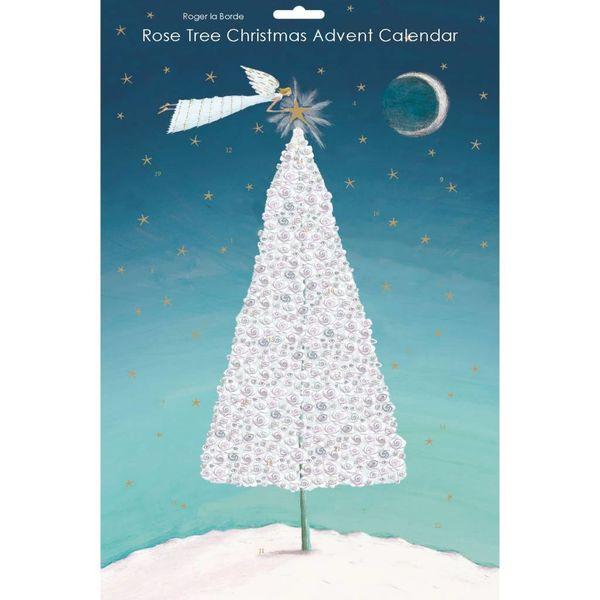 Rose Tree Christmas Advent Calendar
