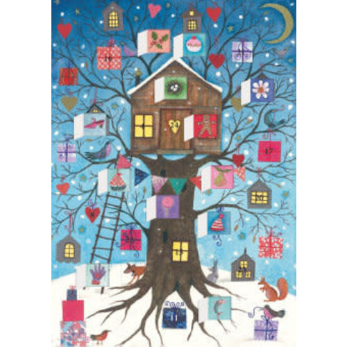Roger La  Borde Christmas Tree House Advent Calendar