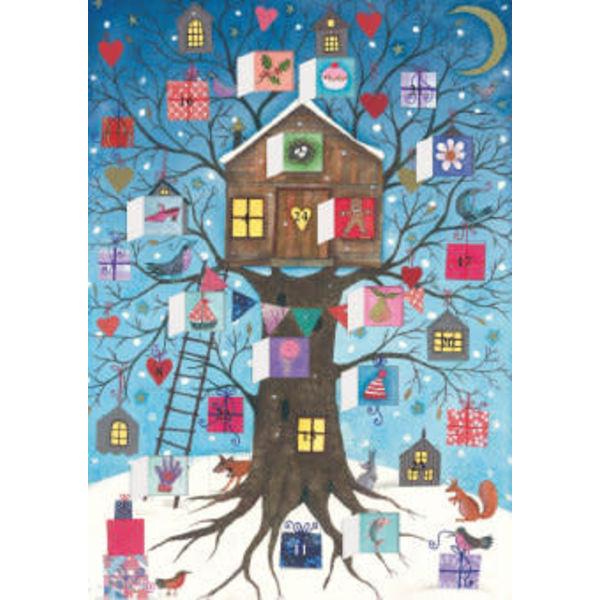 Calendario de Adviento de la Casa del Árbol de Navidad