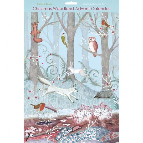 Adventskalender für Weihnachten im Wald