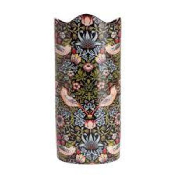 Strawberry Thief - Florero de cerámica grande William Morris 030