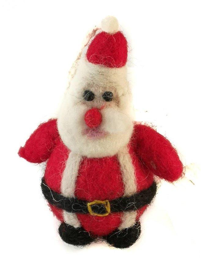 Father Christmas felt decoration 004