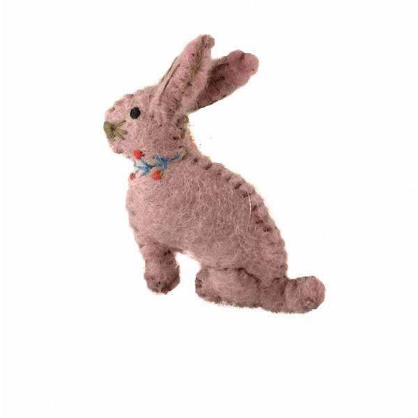 Bunny Pink Keyring