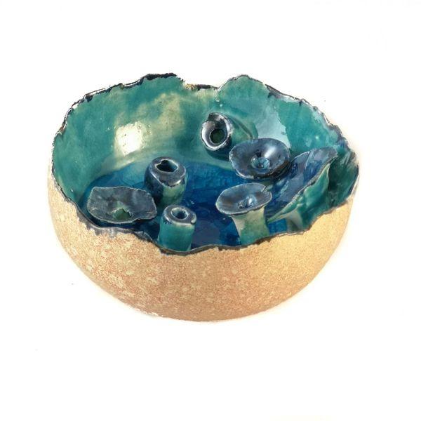 Forma de piscina de rocas 004
