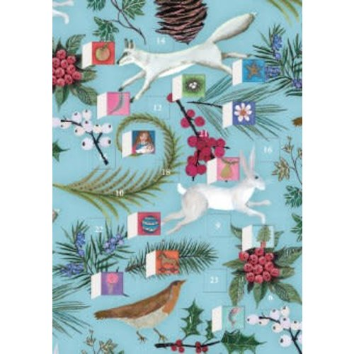 Roger La  Borde Call of The Wild Advent Calendar Card