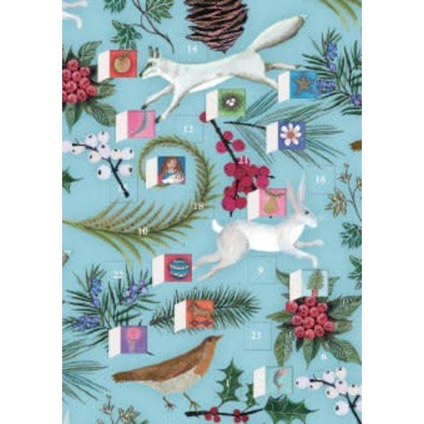Call of The Wild Advent Calendar Card