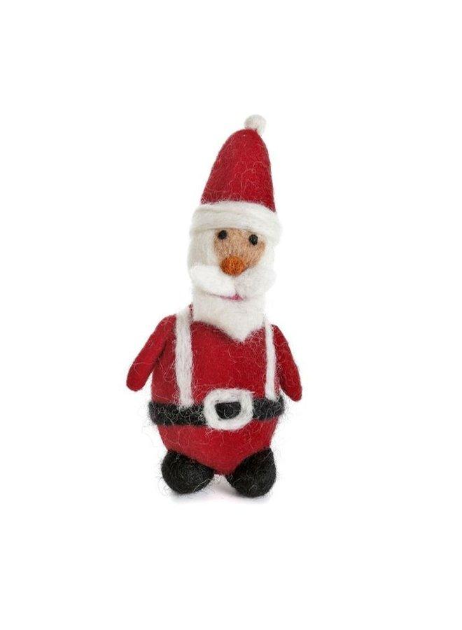 Santa with Belt and Braces  Felt Decoration 123