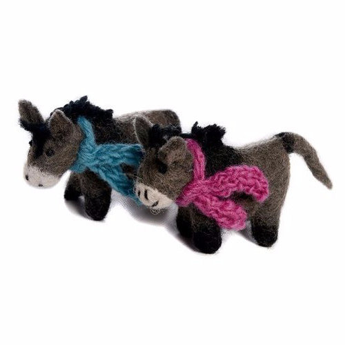 Amica Accessories Donkey with blue scarf  small 023