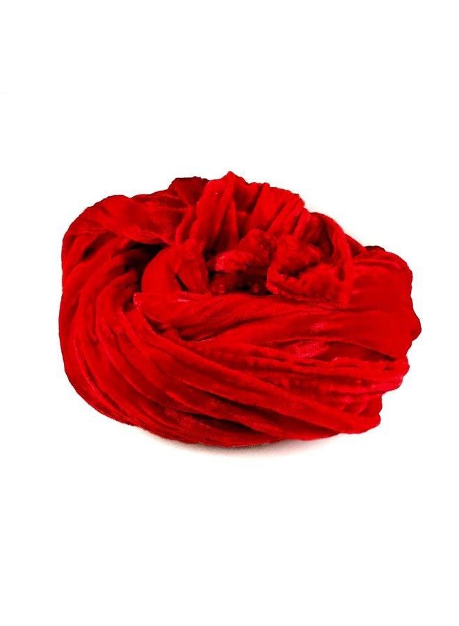 Poppy Silk Double Velvet Schal 071